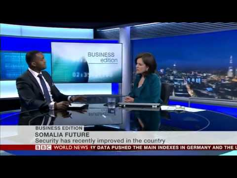 Hassan M. Dudde MD of SEF appears on BBC Business Edition - Tanya Beckett