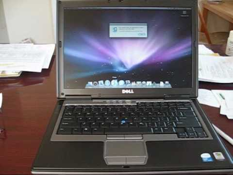 Apple Mac OS X 10.5 Hackintosh on a Dell Latitude D620