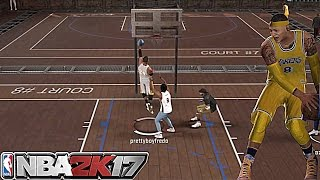 THE CLAMP GOD IS BACK!!! UNSTOPPABLE MYPLAYER IN THE PARK!! NBA 2K17
