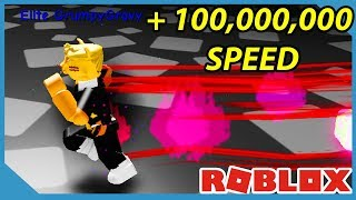 Running Faster Than the Flash! - Roblox Dashing Simulator