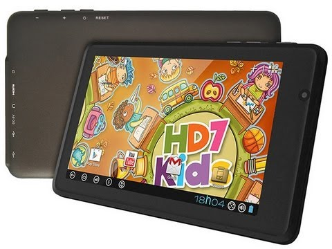 Tablet DL HD7 Kids - Review das Características