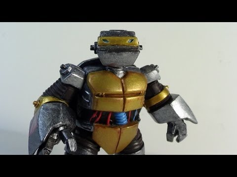 Teenage Mutant Ninja Turtles Metalhead Figure Review (TMNT 2012 Nickelodeon Cartoon Show)