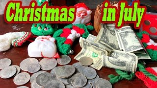 HIDDEN MONEY in CHRISTMAS STUFF from the locker I bought at the abandoned storage auction