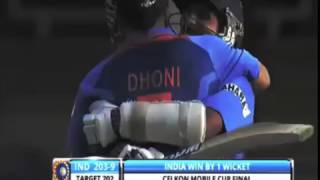 MS Dhoni: The Best Finishe-INDIA NEED 15 OFF 5 BALLS  DHONI IS ON STRIKE
