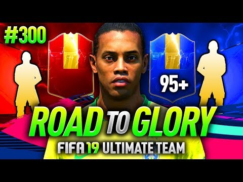 FIFA 19 ROAD TO GLORY #300 - 95 RATED PLAYER IN MY REWARDS!
