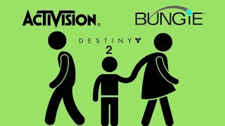 Bungie LEAVES Activision & Takes Destiny!  Is Blizzard Next?