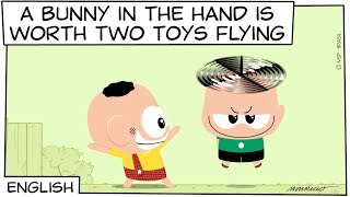 Monica Toy | A bunny in the hand is worth two Toys flying (S06E25)