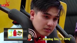 Sao Việt bấn loạn với game đuổi hình bắt chữ trên đu quay cao ngất.
