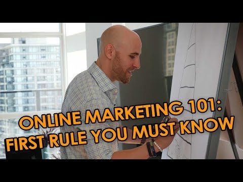 Online Marketing 101: The First Rule You MUST Know When Marketing Online