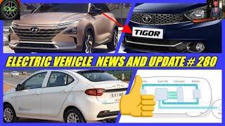 E V NEWS AND UPDATE 2019//TATA tigor electric car update//latest battery technology update.