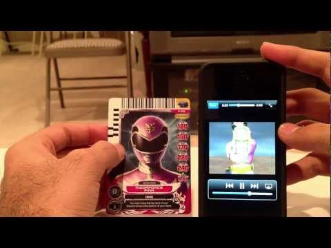 Power Rangers Card Scanner iOS App Review