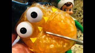 What's inside Ryan's Toy Review BUBBLE PAL Squishy? Elf on the Shelf