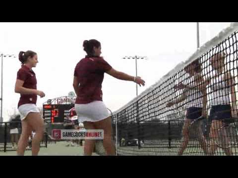 South carolina womens tennis sweeps old dominion 7 0