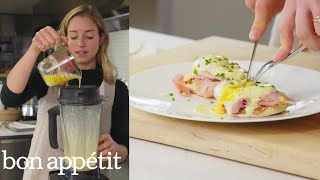 Molly Makes Eggs Benedict for a Crowd | From the Test Kitchen | Bon Appétit