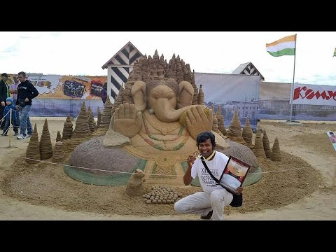Sudarsan Pattnaik bags gold medal in international sand art championship
