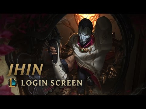 Jhin, the Virtuoso | Login Screen - League of Legends