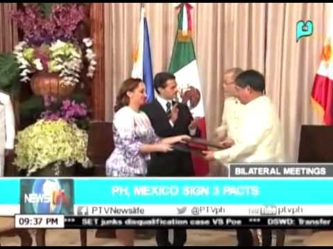 NewsLife: PH, Mexico sign 3 pacts || Nov. 17, 2015