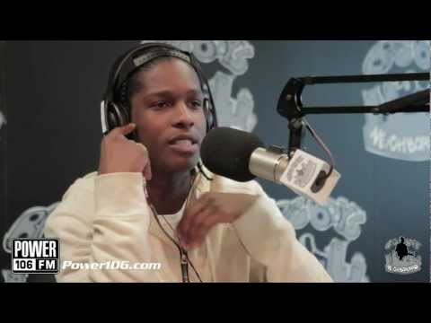 ASAP Rocky talks Rihanna tour, MTV's Hottest MCs List, and Fashion Fetish