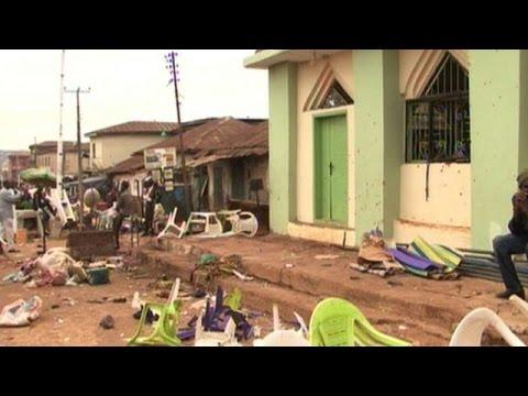 At least 44 killed in twin bomb blasts in Nigeria's Jos