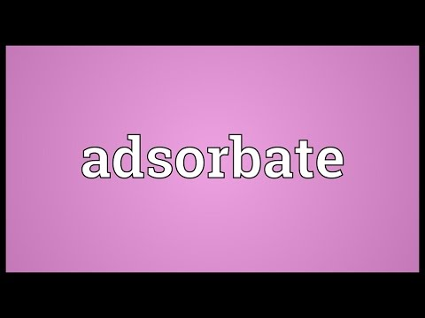 Header of adsorbate
