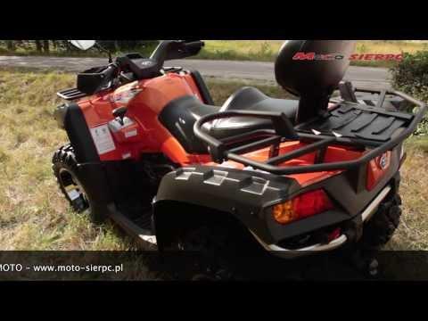 Quad ATV CFMOTO TERRALANDER 800 X8 EFI 4x4 2013 MOTO - SIERPC