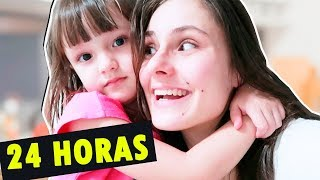 24 HORAS SENDO BABÁ DA MILENA | MMB