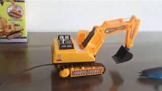Xe máy xúc đồ chơi - xe cẩu đồ chơi