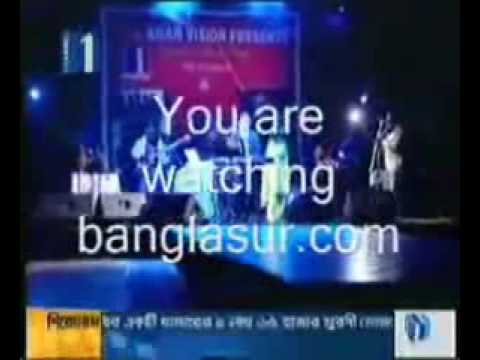 Habib ft Nancy Prithibir Joto Sukh LIVE ON STAGE.