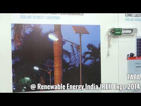 Tata Power Solar @Renewable Energy India (REI) Expo 2014