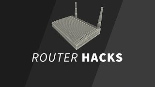 Router Tips You Didn