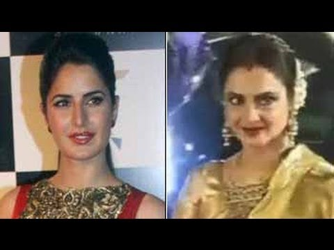 Katrina Kaif and Rekha working hard for Fitoor