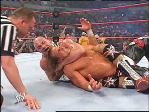 Shown Michle Vs John Cena Vs Kurt Angle 2 3 video