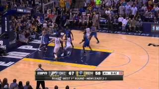 Oklahoma City Thunder vs Memphis Grizzlies Game 4   April 26, 2014   NBA Playoffs 2014