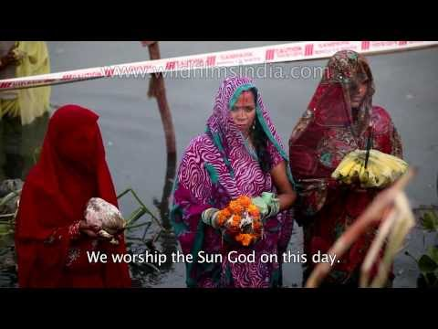 Chhath Puja - Prayer to the life-giving Sun