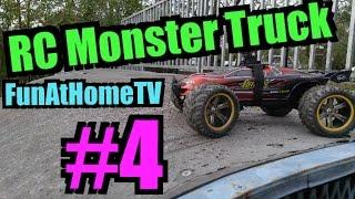 RC CAR GAMES Monster Truck Remote Control toys Cars Playtime at Skate Park FunAtHomeTV