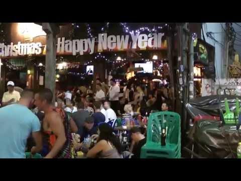 Khao san road bangkok thailand 22-12-2014