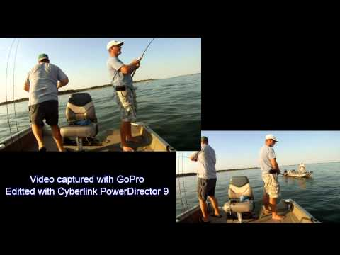 Fishing Lake Lewisville Video 9/23/12 Video # 2