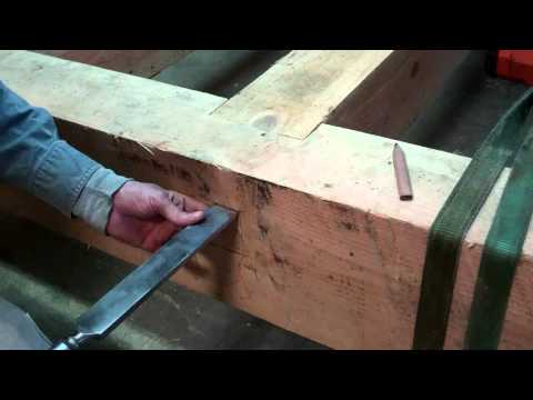 Off-Grid Timber Frame Cabin Finishing The Floor