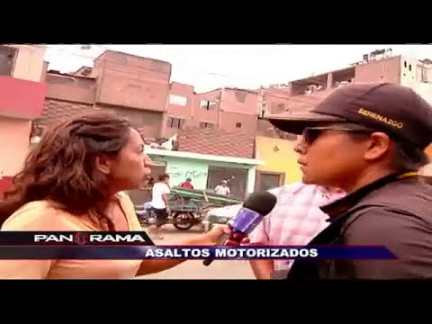 Asaltos motorizados: terror sobre ruedas invade las calles