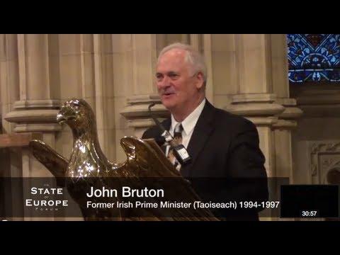 John Bruton State of Europe Forum 2013