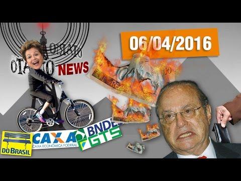 Pedaladas de Dilma, Demolição do Brasil e Maluf Indignado #OtarioNews @CanalDoOtario