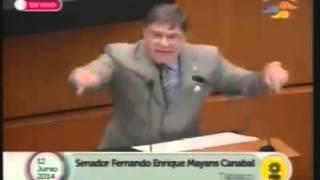 Senador Tabasque�o Indignado Explica La Privatizaci�n. Mas Claro No C Puede