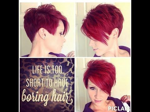 How to style a pixie cut a few different ways