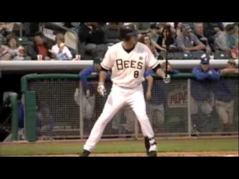 Salt Lake Bees walkup song- Brandon Wood Video