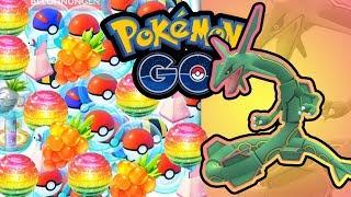 Rayquaza-Endspurt, mehr Items bekommen & 98% = 100%   Pokémon GO Deutsch #929