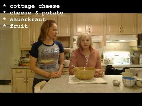 How to Make Cottage Cheese Perogies: Cooking with Kimberly