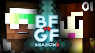 MINECRAFT BF vs GF S3 - Ep. 1 - Lets Begin!
