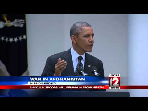 Withdrawal: Obama charts end of Afghan war by 2016