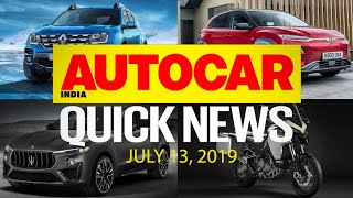 Duster facelift & Hyundai Kona prices, Pulsar 125 and more | Quick News | Autocar India