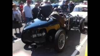 Bugatti type 39 sound